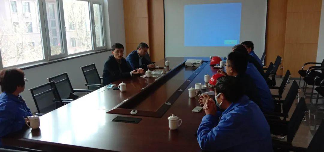 研究院领导到青岛达能环保设备股份有限公司调研交流